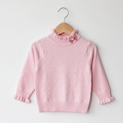 Toddler / Girls Dressy Bow Sweater