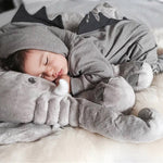 Sleepy Dinosaur Hooded Baby Romper