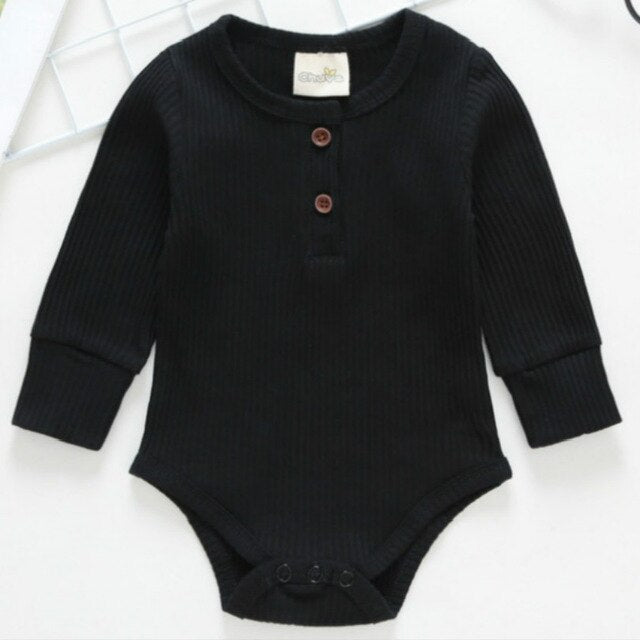 Sold Long Sleeve Knitted Baby/ Toddler Bodysuit