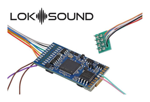 Blank Loksound 5 Sound Decoder 8 pin 97417 - Roads And Rails