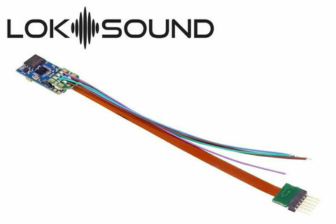 Blank Loksound 5 Micro Sound Decoder 6 Pin 58816 - Roads And Rails
