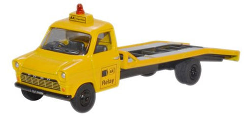 Oxford Diecast 1:76 Mk1 Ford Transit Recovery Truck AA 76FTB002 - Roads And Rails