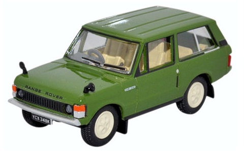 Oxford Diecast 1:76 Range Rover Classic Lincoln Green 76RCL001 - Roads And Rails