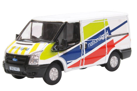 Oxford Diecast 1:76 National Grid Ford Transit Van (Low Roof) 76FT035 - Roads And Rails