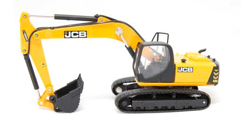 Oxford Diecast 1:76 JCB JS220 Tracked Excavator 76JS001 - Roads And Rails