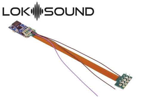 Blank Loksound 5 Micro Sound Decoder 8 Pin 58810 - Roads And Rails