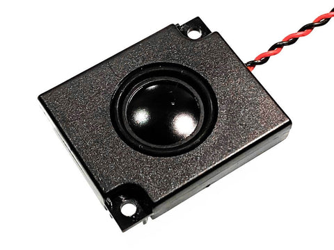 24x30x5mm Bass Enhanced DCC Sound Speaker (8 ohm) - Roads And Rails
