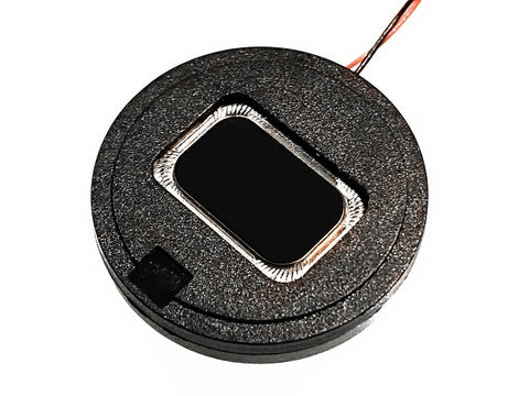 27mm Round Bass Enhanced DCC Sound Speaker (4 ohm) - Roads And Rails