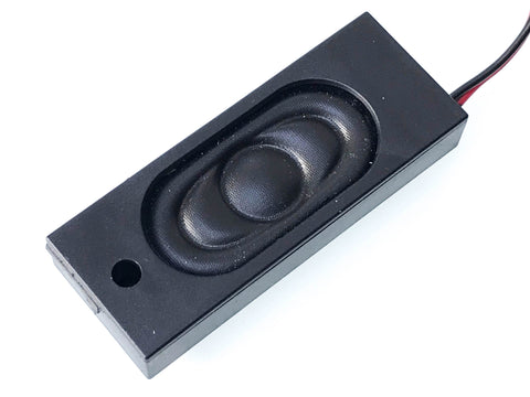 58x22x10mm Bass Reflex DCC Sound Speaker (8 ohm) - Roads And Rails