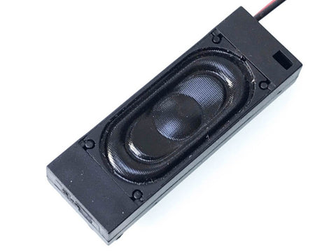 49x17x8mm Compact Bass Reflex DCC Sound Speaker (8 ohm) - Roads And Rails