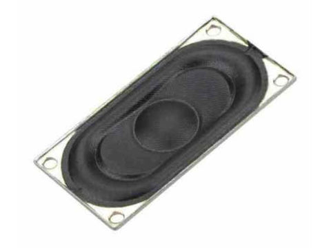 20x40mm Rectangular DCC Sound Speaker (8 ohm) - Roads And Rails