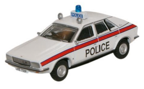 Oxford Diecast 1:76 British Leyland Princess Police Car 76BLP002 - Roads And Rails