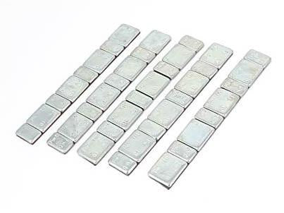 Five Strips Of Model Railway Weights - Roads And Rails
