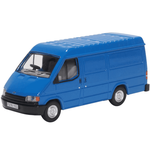 Oxford Diecast 1:76 Mk3 Ford Transit Van Gentian Blue 76FT3009 - Roads And Rails