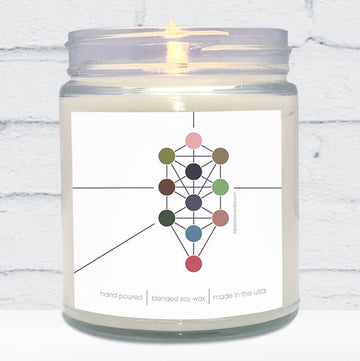 Tree of Life Candle
