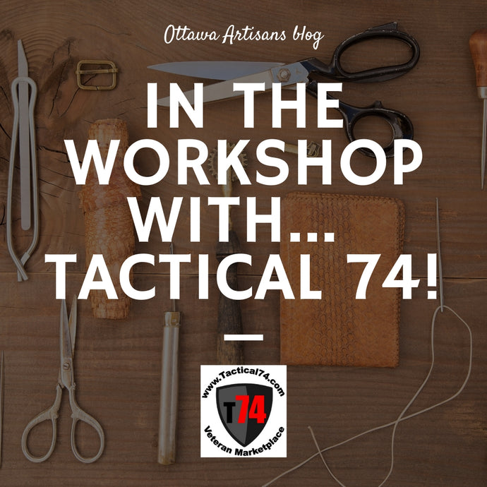 In the workshop with... Tactical 74!