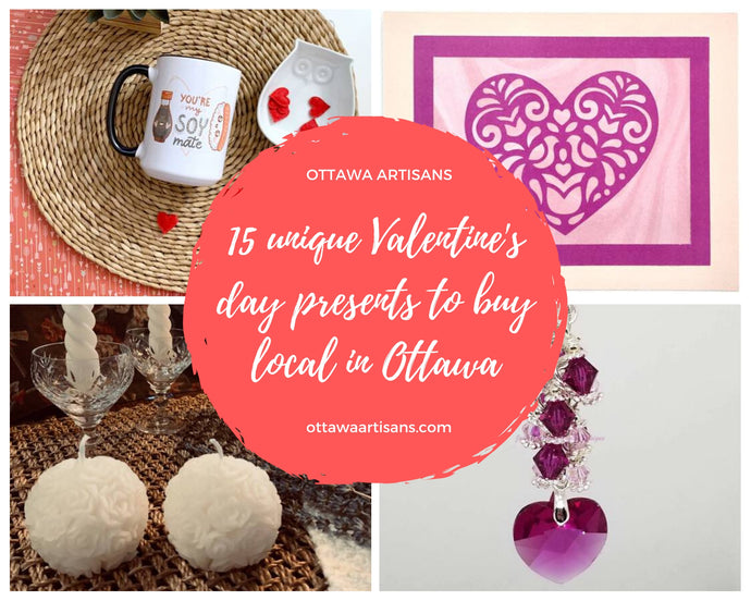 15 unique Ottawa Valentine's day gift idea to buy local