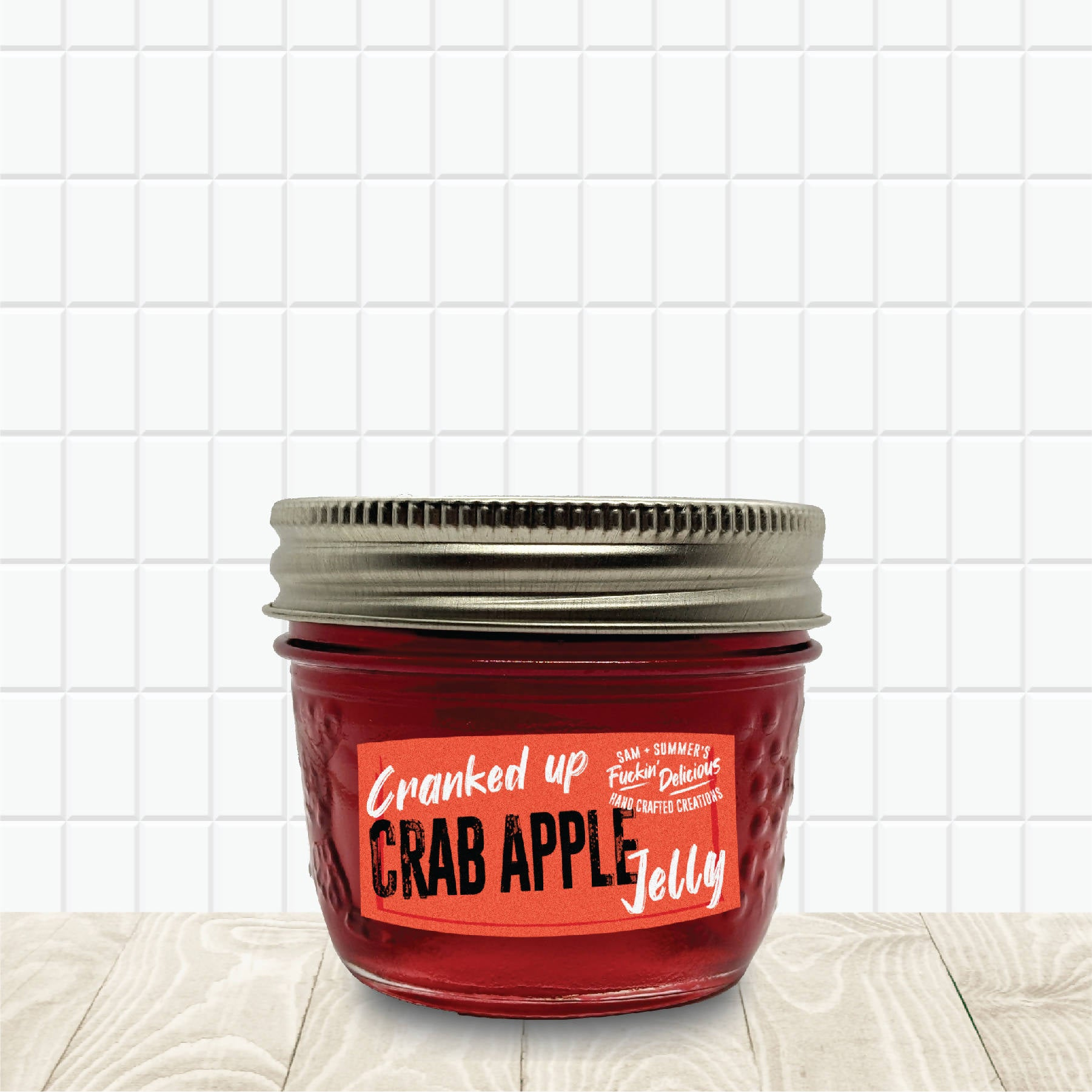Cranked Up Crab Apple Jelly
