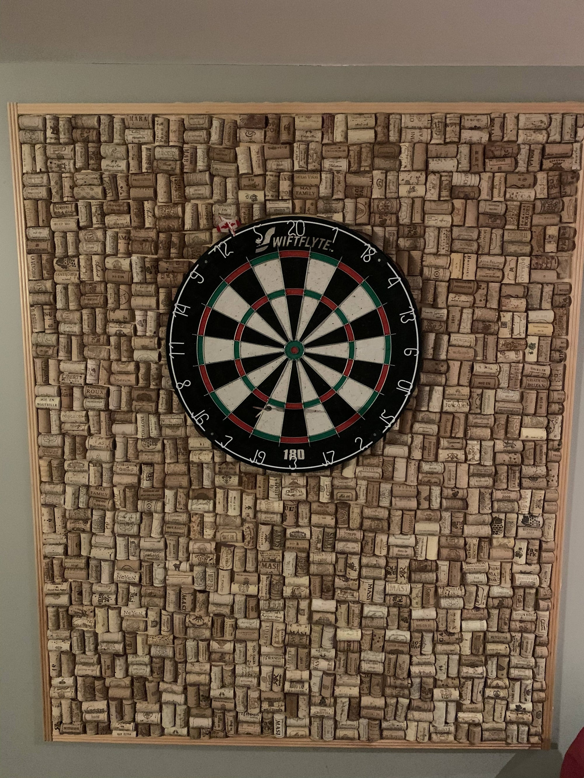 Cork Dart Board