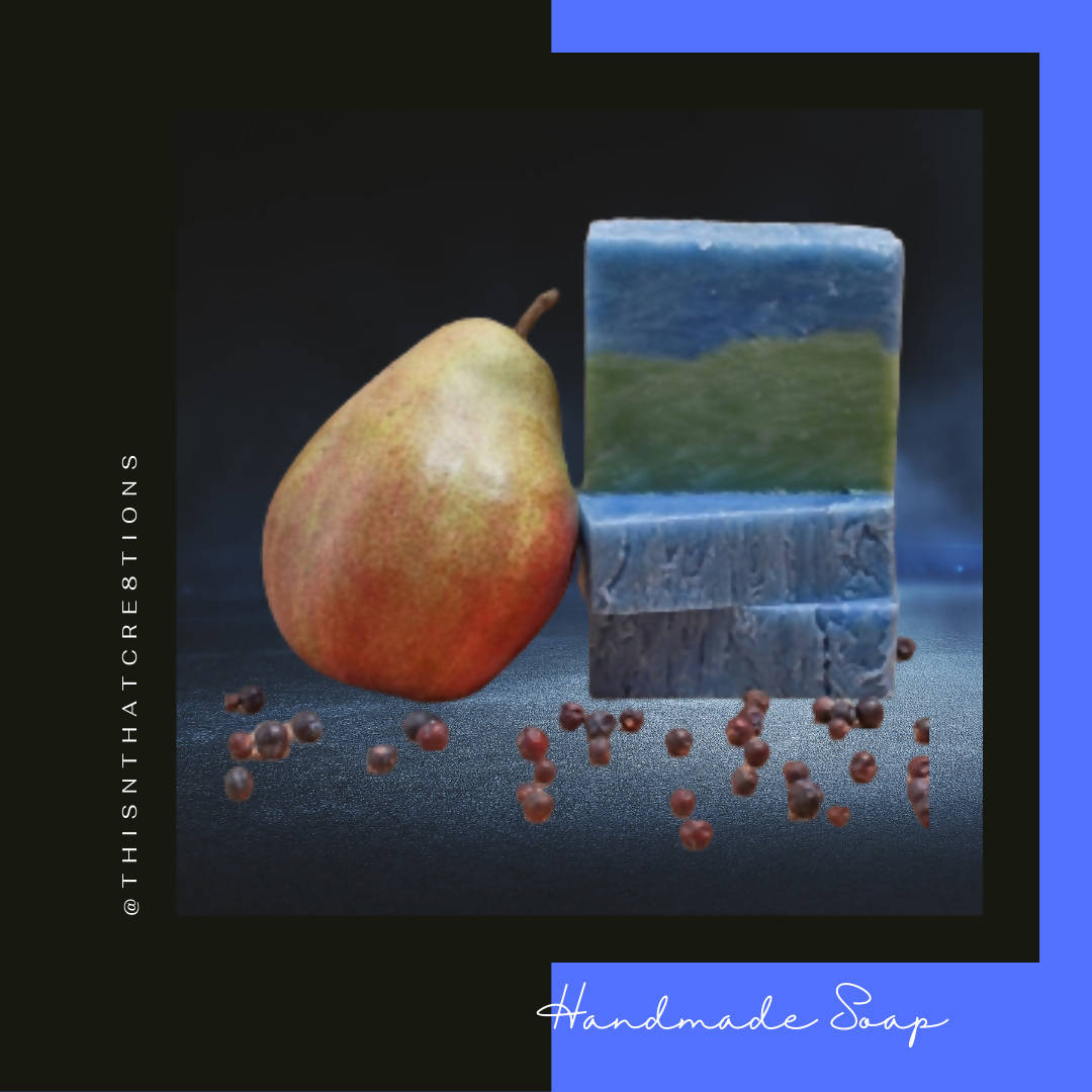 Pear and Berry Handmade Soap