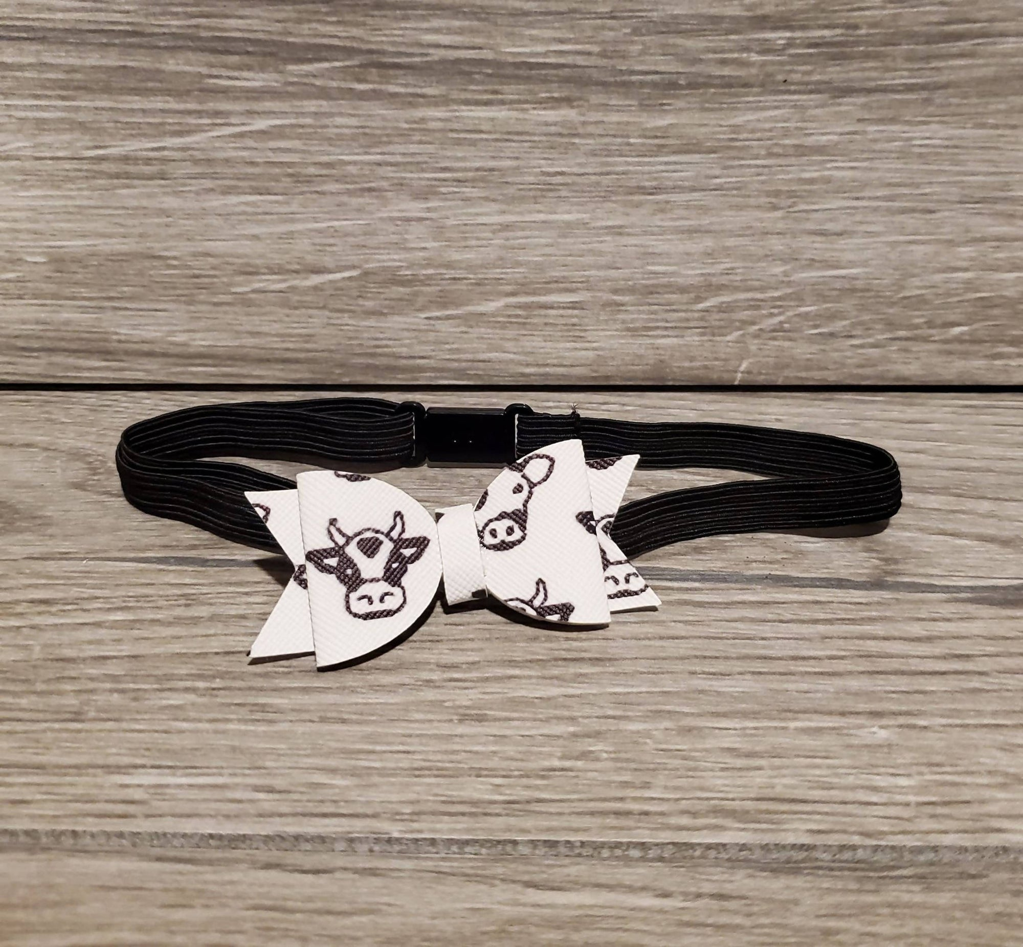 Cow Bow / Headband