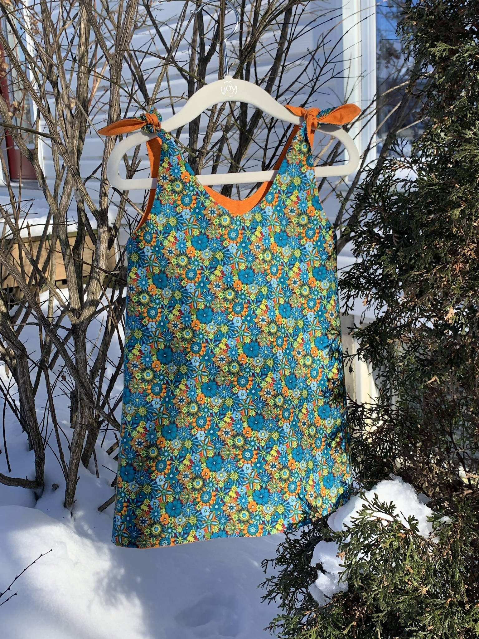 Tie Top Sundress - size 2/3 years