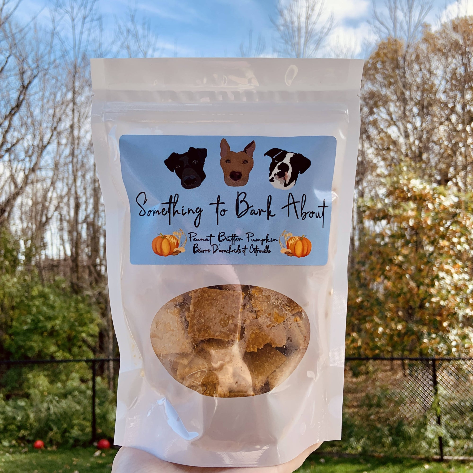 Peanut Butter Pumpkin Dog Treats 250 grams