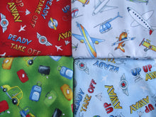 Load image into Gallery viewer, Airport Play Mat - Fold Up Travel Air Plane Play Mat Quilt With Pockets for Toy Storage