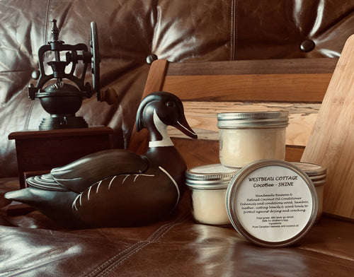CocoBee Shine Wood & Leather Conditioning Polish (250ml)