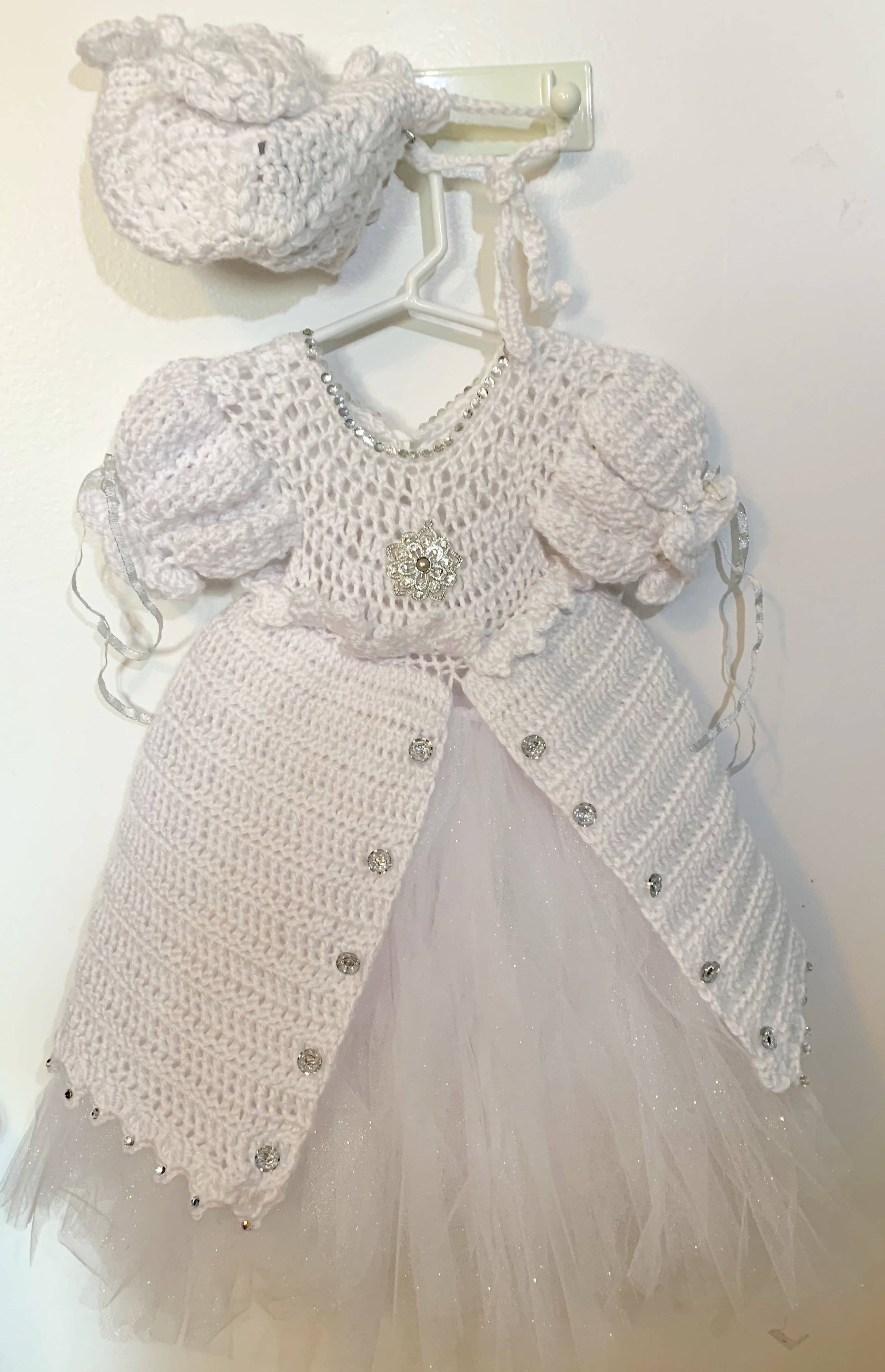 Christening Gown and Hat