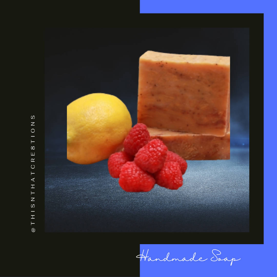 Raspberry Lemonade Handmade Soap