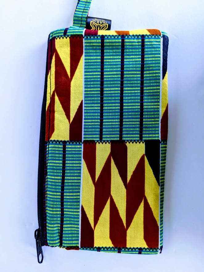 Kente Make Up Bag