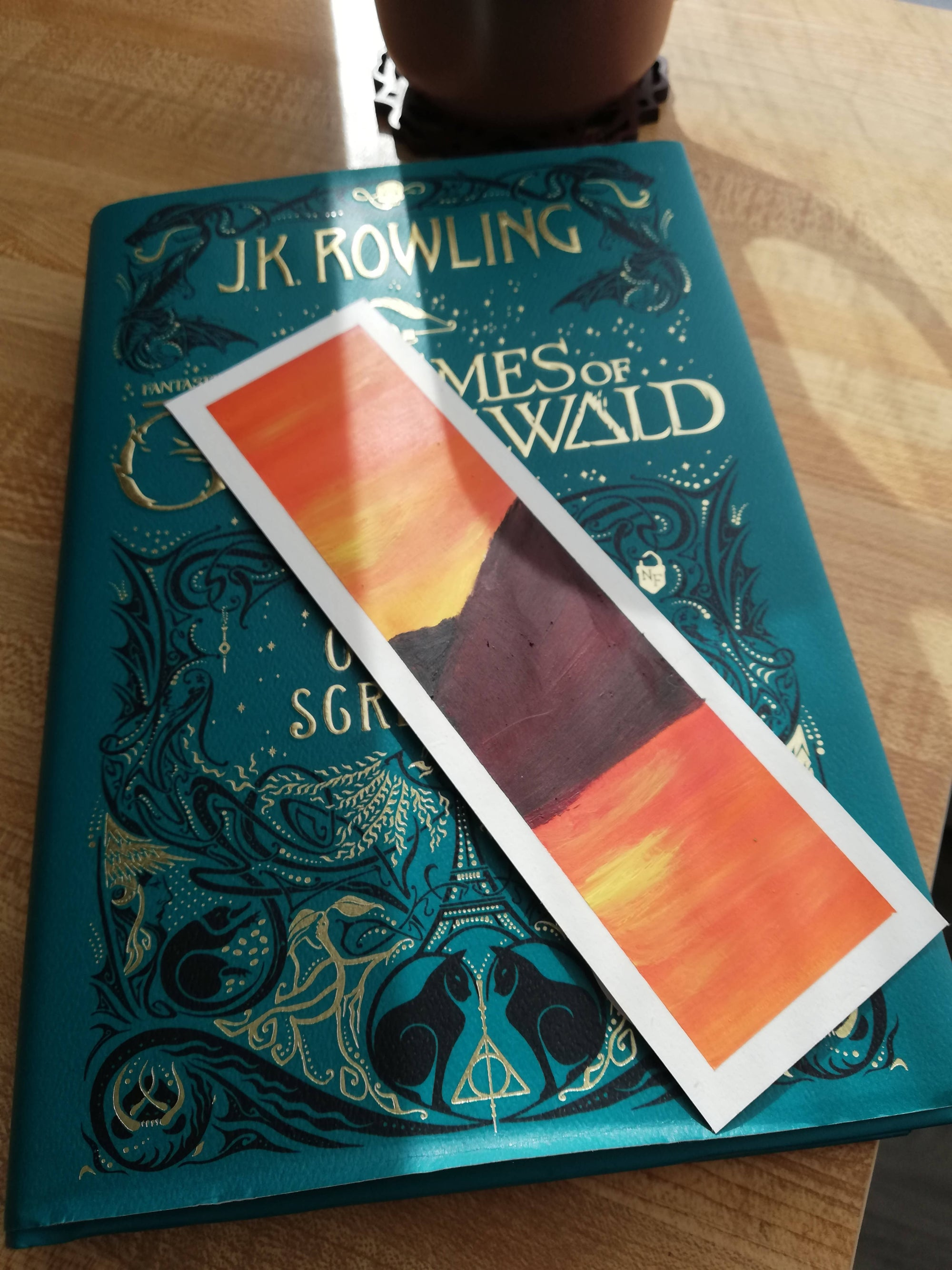Red Sunset Bookmark