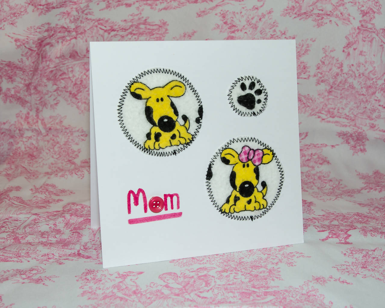 Mother's Day Greeting Card - Handmade - For the Fur Baby Mom!