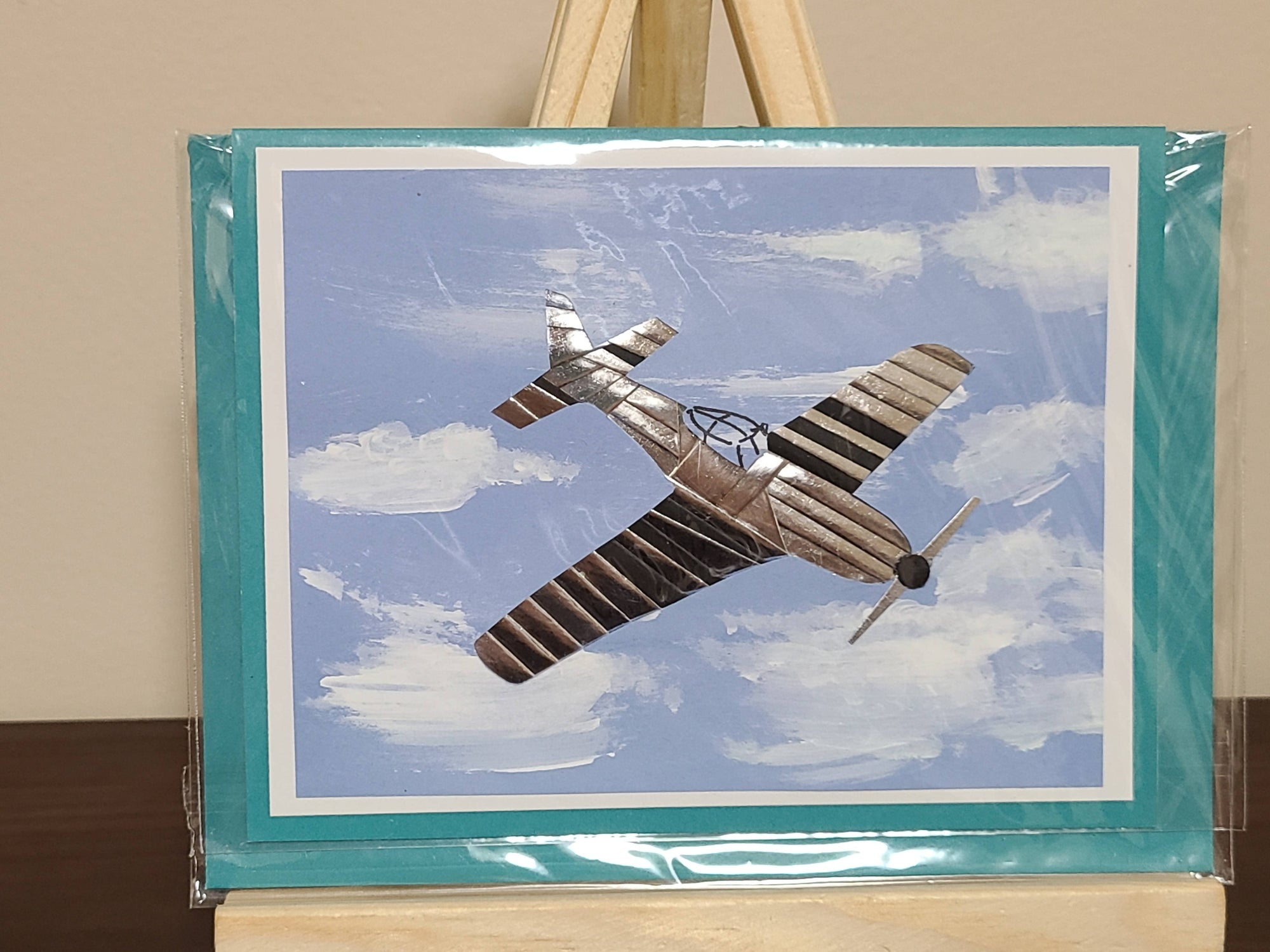 """Free Shipping"" Airplane Card for Any Occasion"