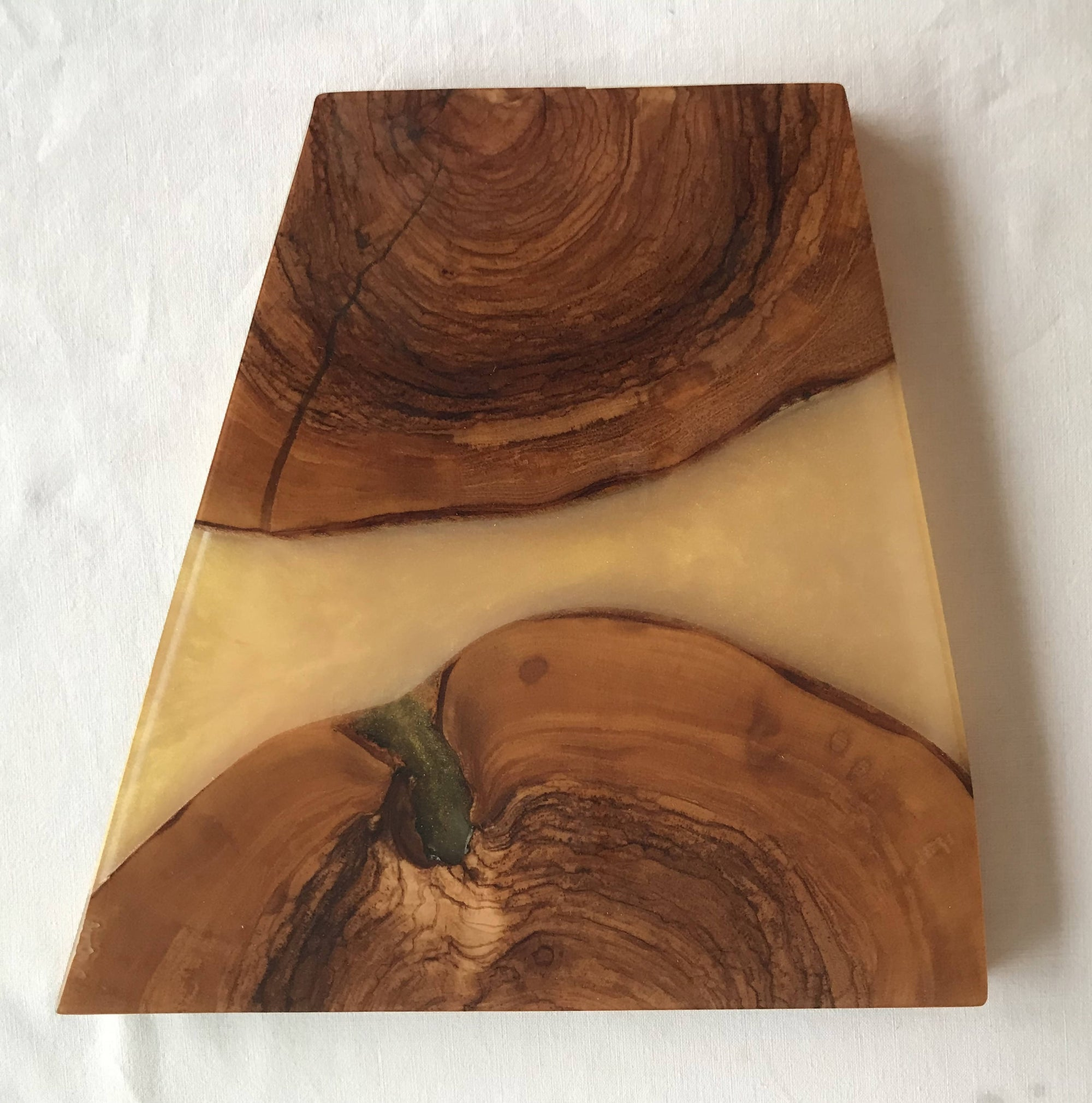 Serving Board - Wood/Resin River