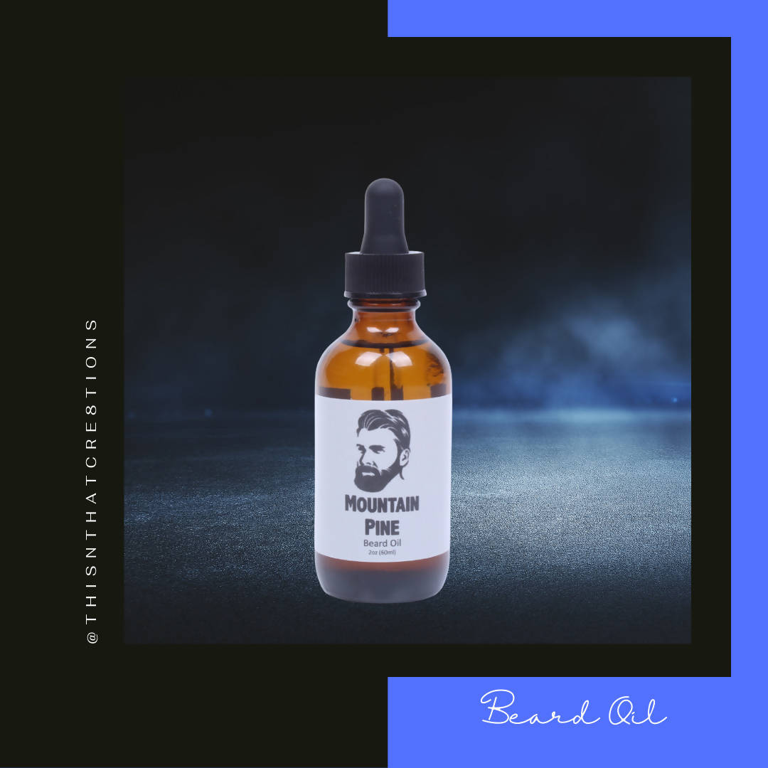 Mountain Air Beard Oil