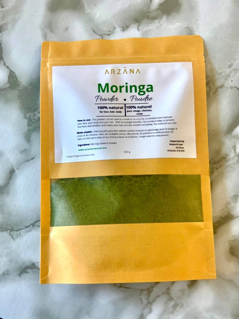 Moringa Powder- Facial mask/scrub powder