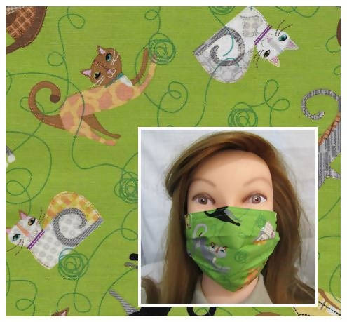 ♥SO PURRR-FECT♥ Reusable Face Masks (#2276)