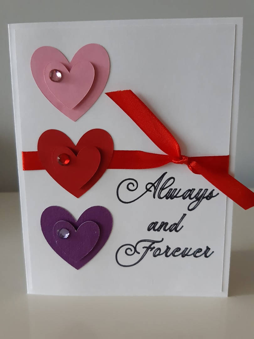 Always and Forever - Greeting card