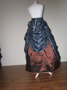 Adjustable Tie-waist Bustle Skirt Size L - XL