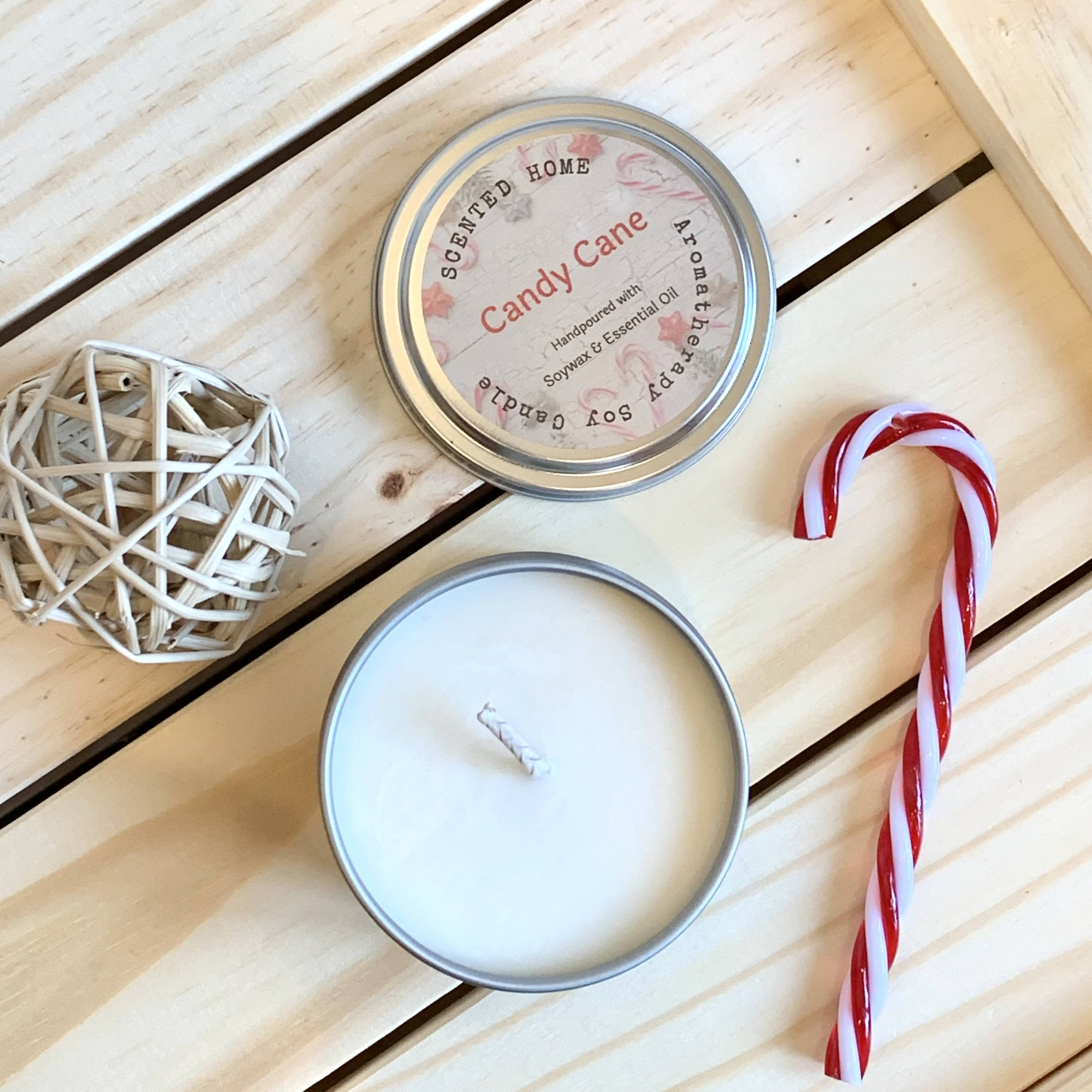 Aromatherapy Soy Candle _ Holidays Collection