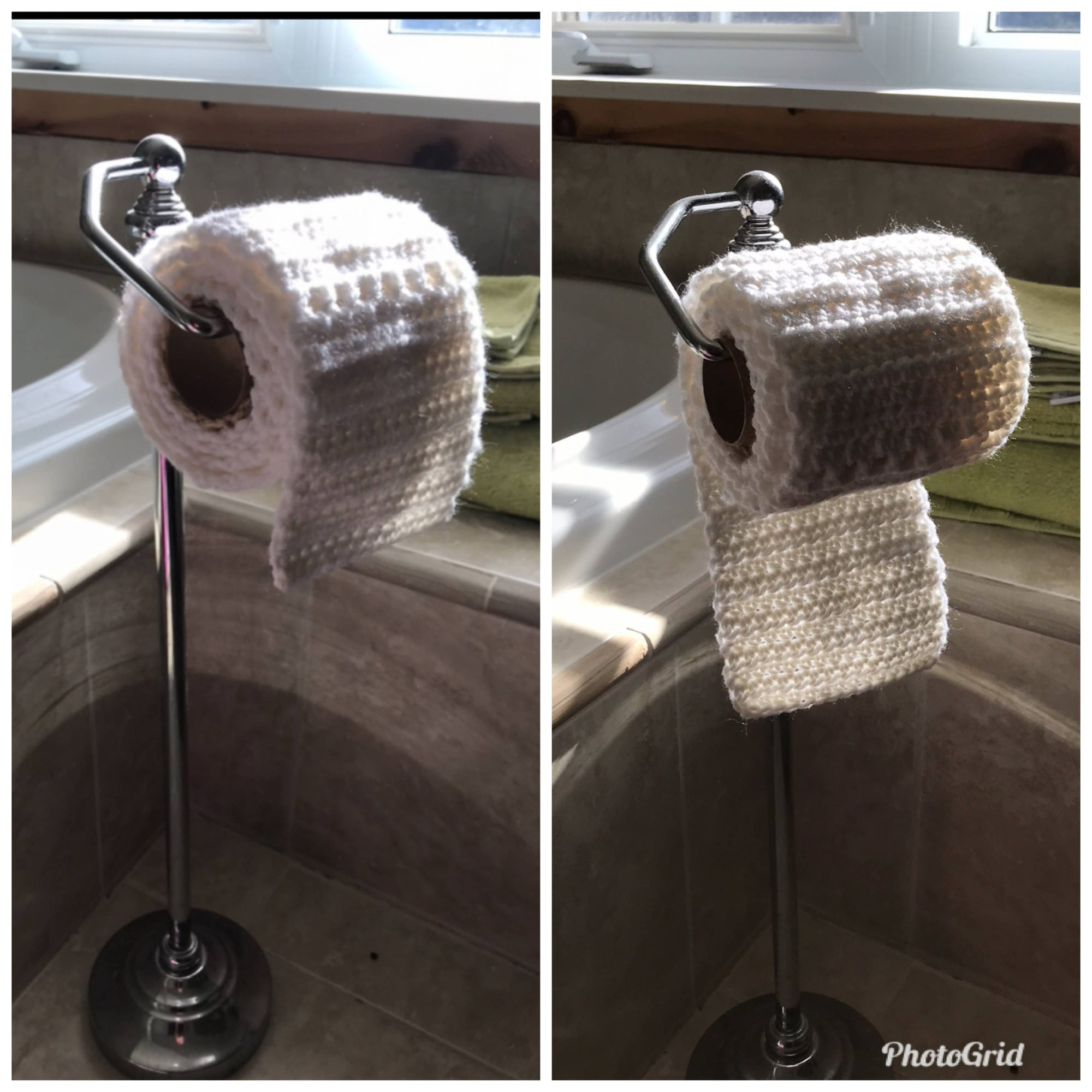 Crochet Roll of Toilet Paper
