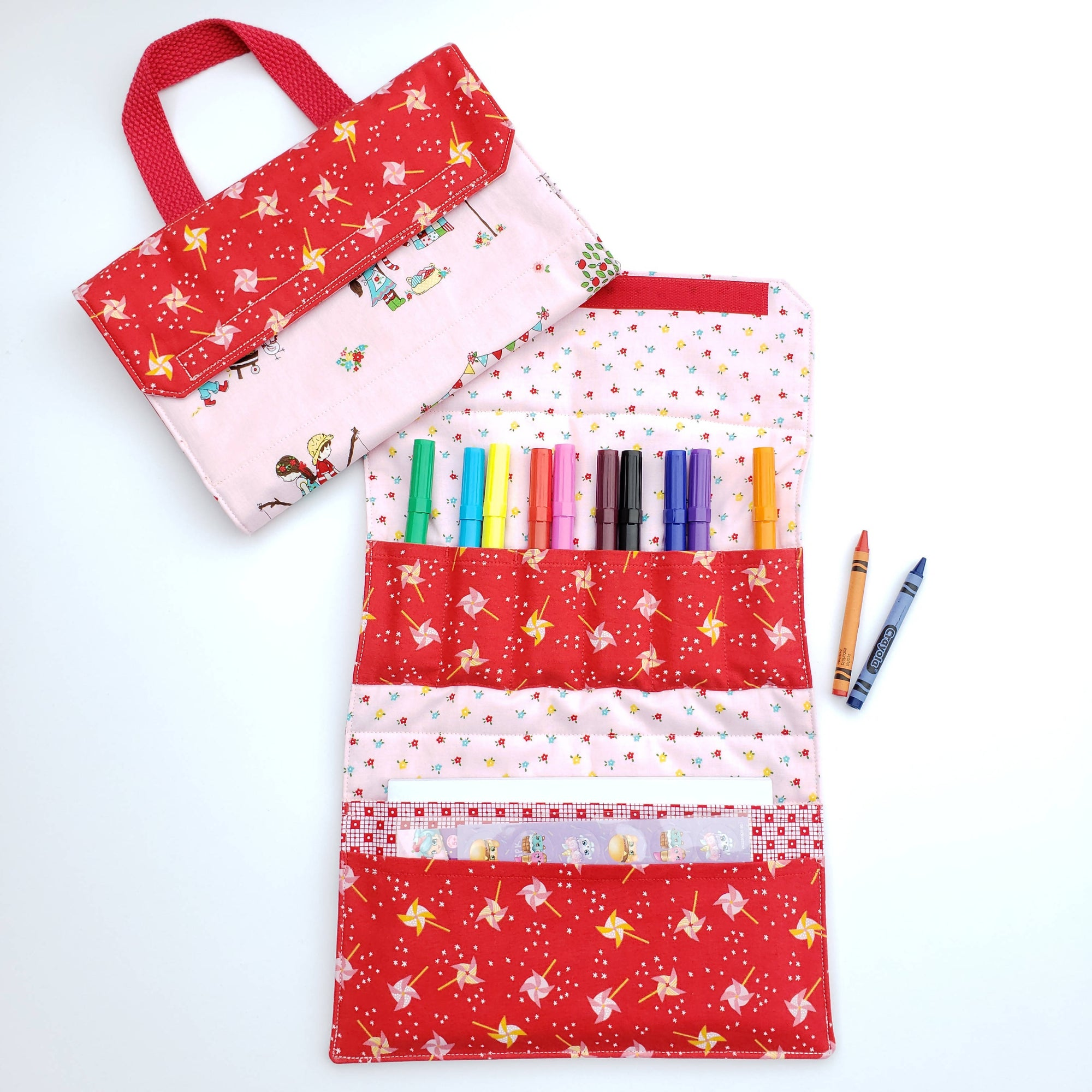 Craft Tote - Simple Goodness on Pink