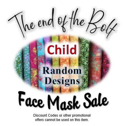 ❤ S.A.L.E ❤ CHILD (age 3-6) FACE MASK - End Of The Bolt