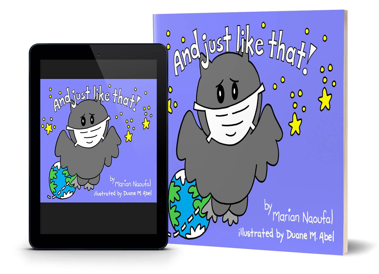 "Children's Picture Book - Ottawa Author Marian Naoufal "" And just like that!"" - NEW Release"