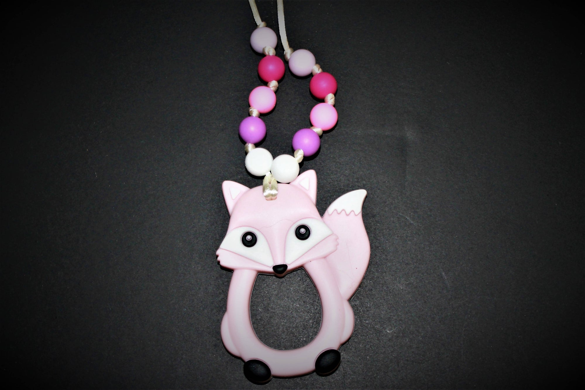 Pink Fox Breakaway Necklace