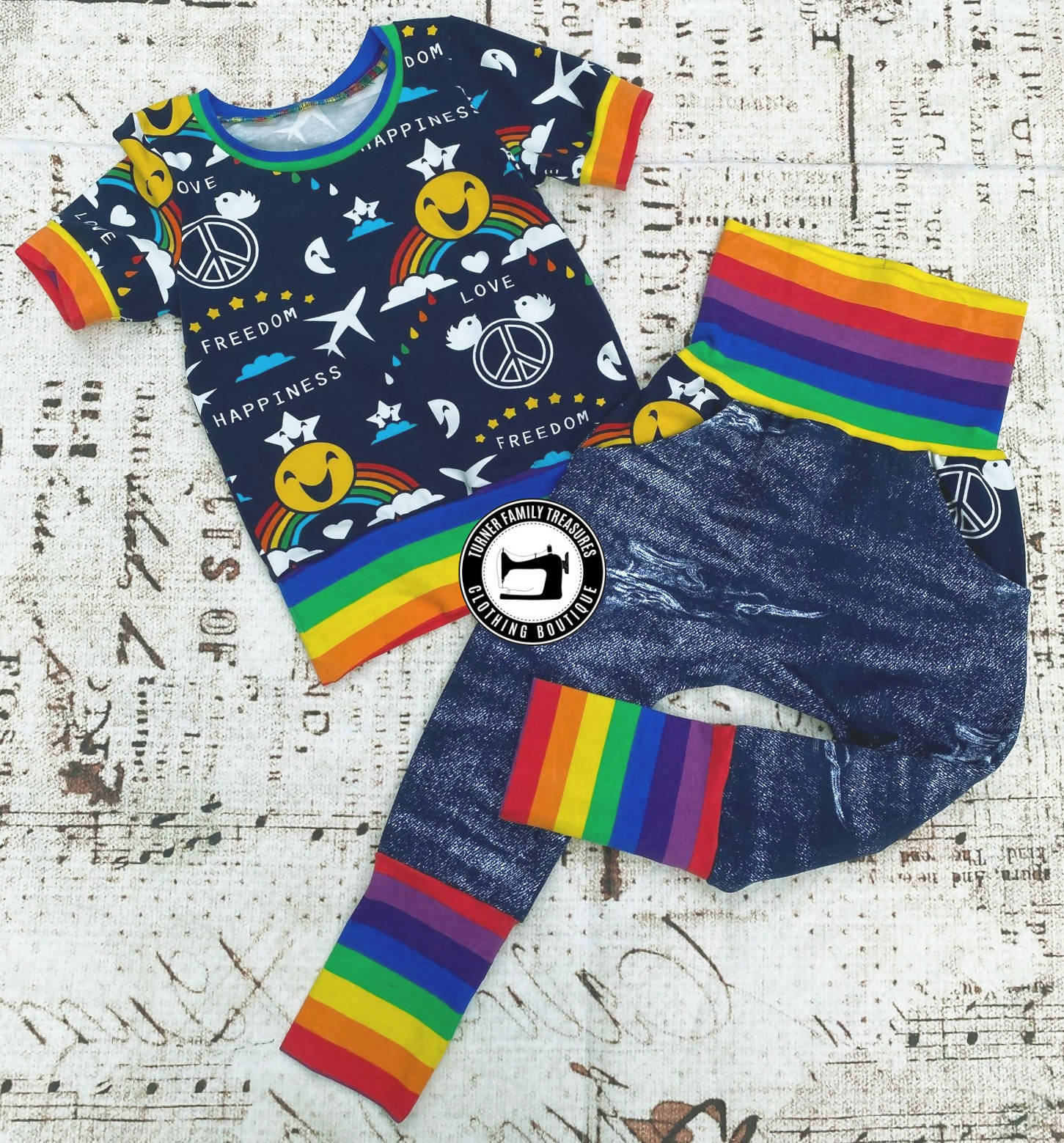 Grow With Me Rainbow Set ages 1-3 years