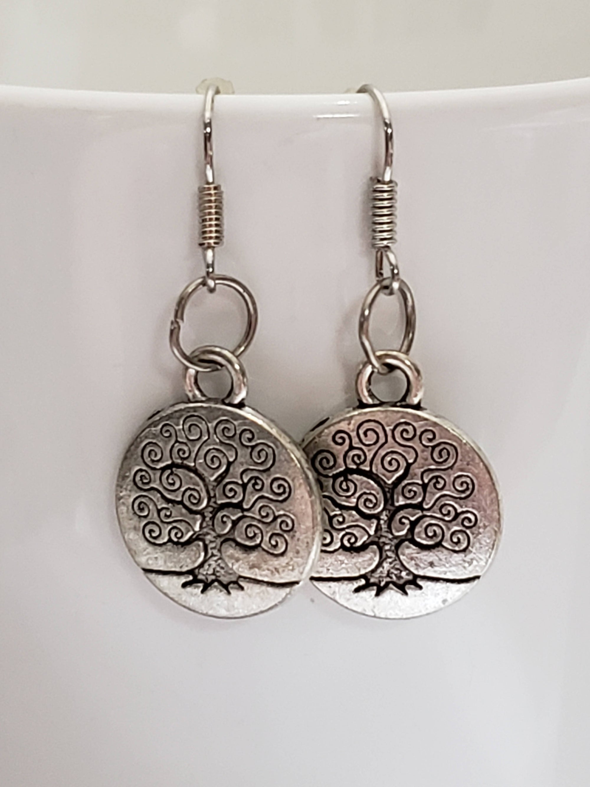 """FREE SHIPPING"" Tree of life Earrings"