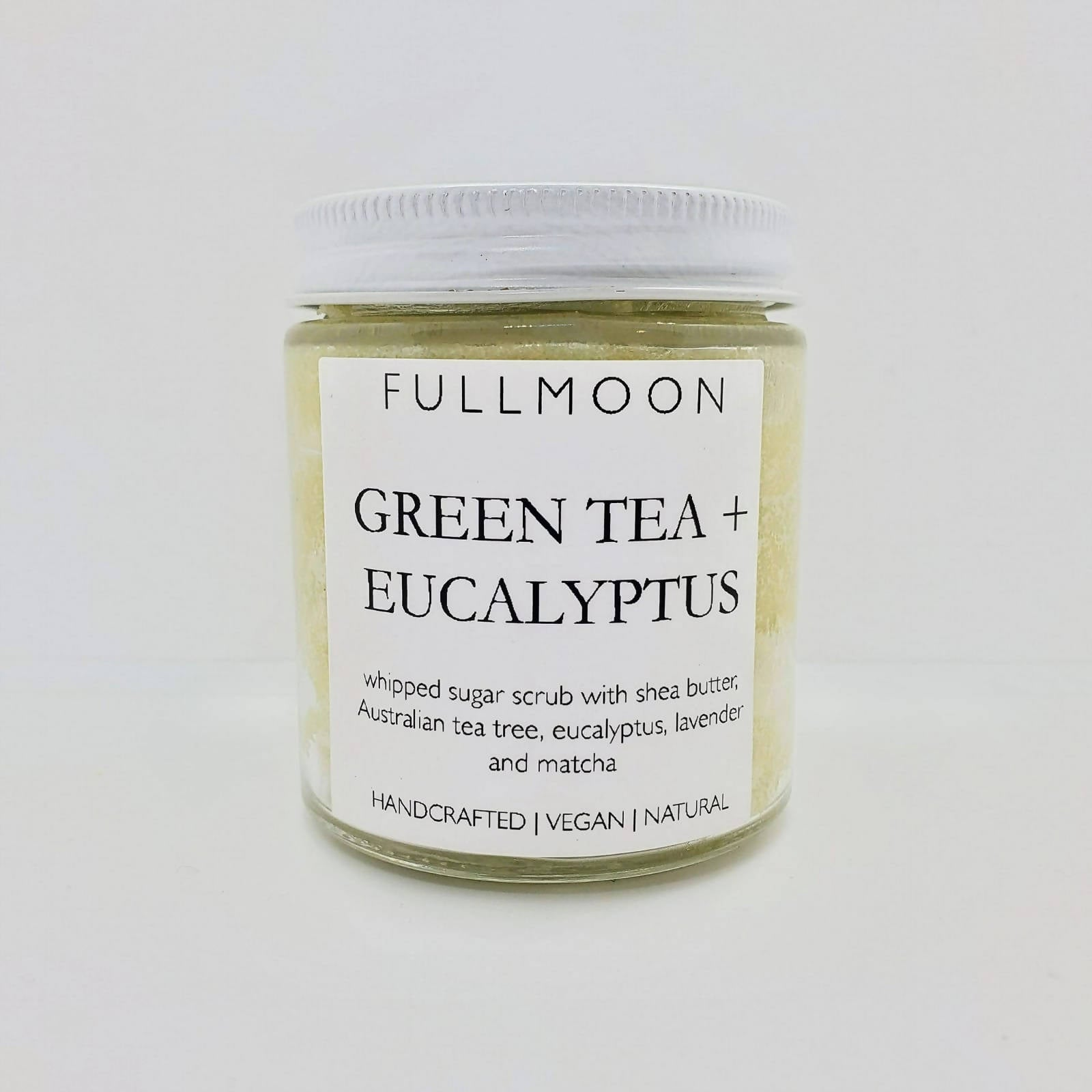 Green Tea + Eucalyptus & Tea Tree Whipped Body Scrub